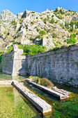 Kotor City Wall Fortifications, Montenegro — Stock Photo