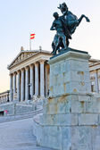 Austrian Parliament in Vienna — Stock Photo