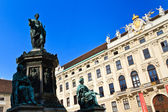 Vienna Hofburg Palace - Inner Square (Innerer Burghof) — Stock Photo