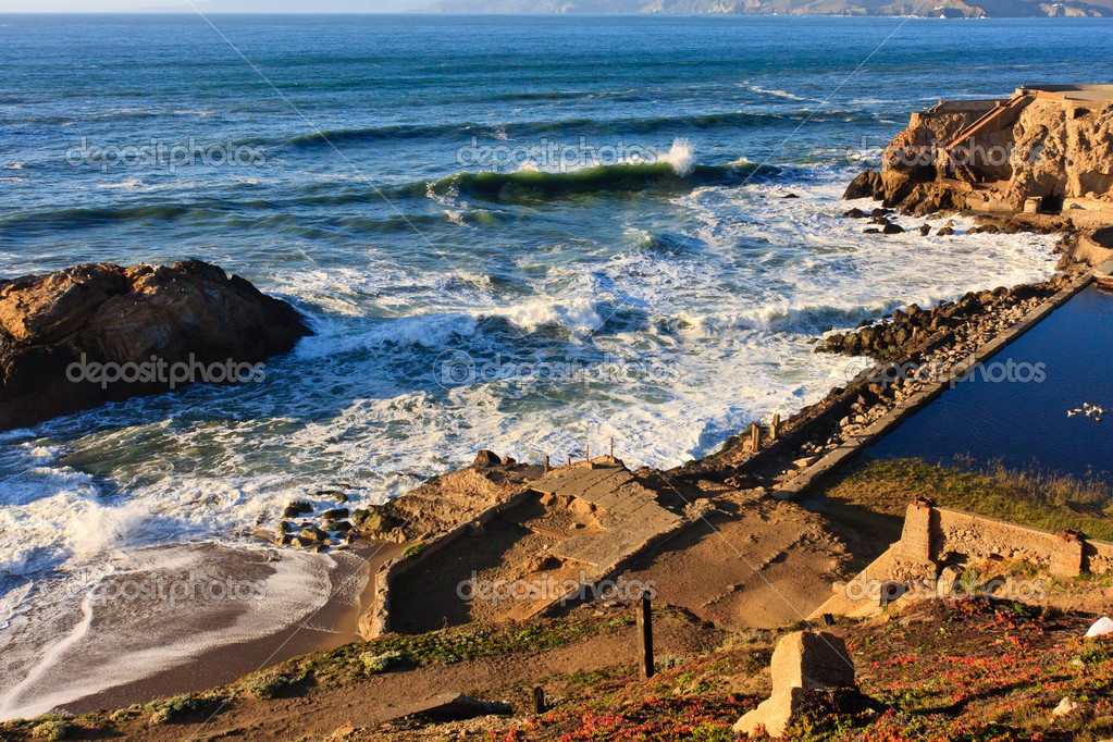 Sutro Baths in San Francisco, California — Stock Photo #14663501