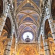Siena, Tuscany - Interior of dome (Duomo di Siena) — Stock Photo #14673593