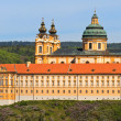 Melk - Famous Baroque Abbey (Stift Melk), Austria - Stock Photo