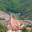 Stock Photo: Spitz Village on river danube