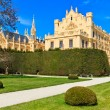 Lednice palace and gardens, Unesco World Heritage Site, Czech Re - Stock Photo