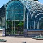 Lednice palace glass house, Unesco World Heritage Site — Stock Photo #14677173
