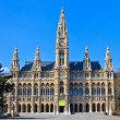 City Hall of Vienna (Rathaus) - Stock Photo