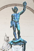 Perseus with the head of Medusa, Florence — Stock Photo