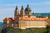Melk - Famous Baroque Abbey (Stift Melk), Austria — Stock Photo