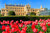 Lednice palace and gardens, Unesco World Heritage Site, Czech Re — Stock Photo