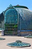 Lednice palace glass house, Unesco World Heritage Site — Stock Photo