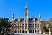 City Hall of Vienna (Rathaus) — Stock Photo