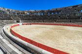 Bull Fighting Arena Nimes (Roman Amphitheater), France — Stock Photo
