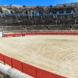 Bull Fighting Arena Nimes (Roman Amphitheater), France — Stock Photo #15508379