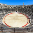Bull Fighting Arena Nimes (Roman Amphitheater), France — Stock Photo #15508673