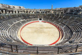Bull Fighting Arena Nimes (Roman Amphitheater), France — 图库照片