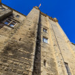 Uzes, Tower of the ducal palace, Languedoc Roussillon, France - Stock Photo