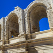 Roman Arena. Amphitheater in Arles, Provence, France. — Stock Photo
