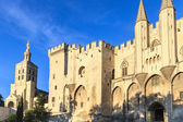 Avignon in Provence - View on Popes Palace — Stock Photo