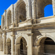 Roman Arena. Amphitheater in Arles, Provence, France. — Stock Photo #15520133