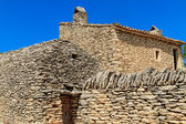 Stone huts in the Village des Bories near Gordes, Southern Franc — Stock Photo