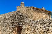 Stone huts in the Village des Bories near Gordes, Southern Franc — Stock Photo