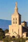 Avignon - Notre Dames des Domes Church near Papal Palace, Proven — Stock Photo