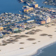 Aerial View on Florida Beach near St. Petersburg — Stock Photo #18394175