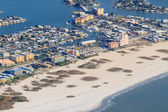 Aerial View on Florida Beach near St. Petersburg — Stock Photo