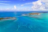 Florida Keys Aerial View with bridge — Stock Photo