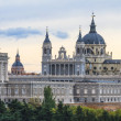 Stock Photo: AlmudenCathedral, Madrid, Spain