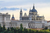 Almudena Cathedral, Madrid, Spain — 图库照片