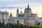 阿尔穆德纳大教堂,马德里,西班牙 — 图库照片