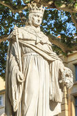 Statue of King Rene of Anjou, Aix-en-Provence — Stock Photo