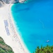 Myrtos Beach, Kefalonia Island, Greece — Stock Photo