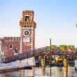 Stock Photo: Venice, Arsenale historic shipyard