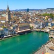 Zurich Cityscape (aerial view) — Stock Photo #19106363