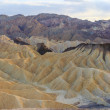 Zabriskie Point Panorama (High Res), Death Valley National Park - Stock Photo