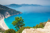 Myrtos Beach, Kefalonia Island, Greece — Stock Photo