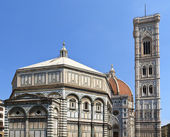Florence Dome and Campanile, Italy — Stock Photo