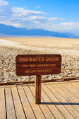 Badwater Basin, Death Valley National Park, California — Stock Photo