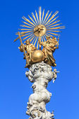 Baroque Trinity Column in Linz, Austria — Stock Photo