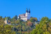 Poestlingberg basilica, linz, austria — Foto Stock
