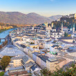 Salzburg (Austria) inner city - Stock Photo