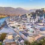 Salzburg (Austria) inner city — Stock Photo