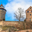 Nuremberg Imperial Castle (Kaiserburg), Germany - Stock Photo