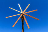 Wooden windmill (Klapotetz), Styria, Austria — Stock Photo