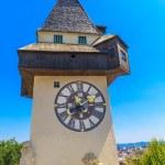 Famous Clock Tower (Uhrturm) in Graz, Styria, Austria — Stock Photo #20135081