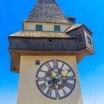 Famous Clock Tower (Uhrturm) in Graz, Styria, Austria — Stock Photo #20135451