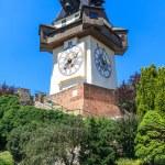 Famous Clock Tower (Uhrturm) in Graz, Styria, Austria — Stock Photo #20138115