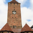 Nuremberg, Medieval White Tower Gate, Bavaria, Germany — Stock Photo